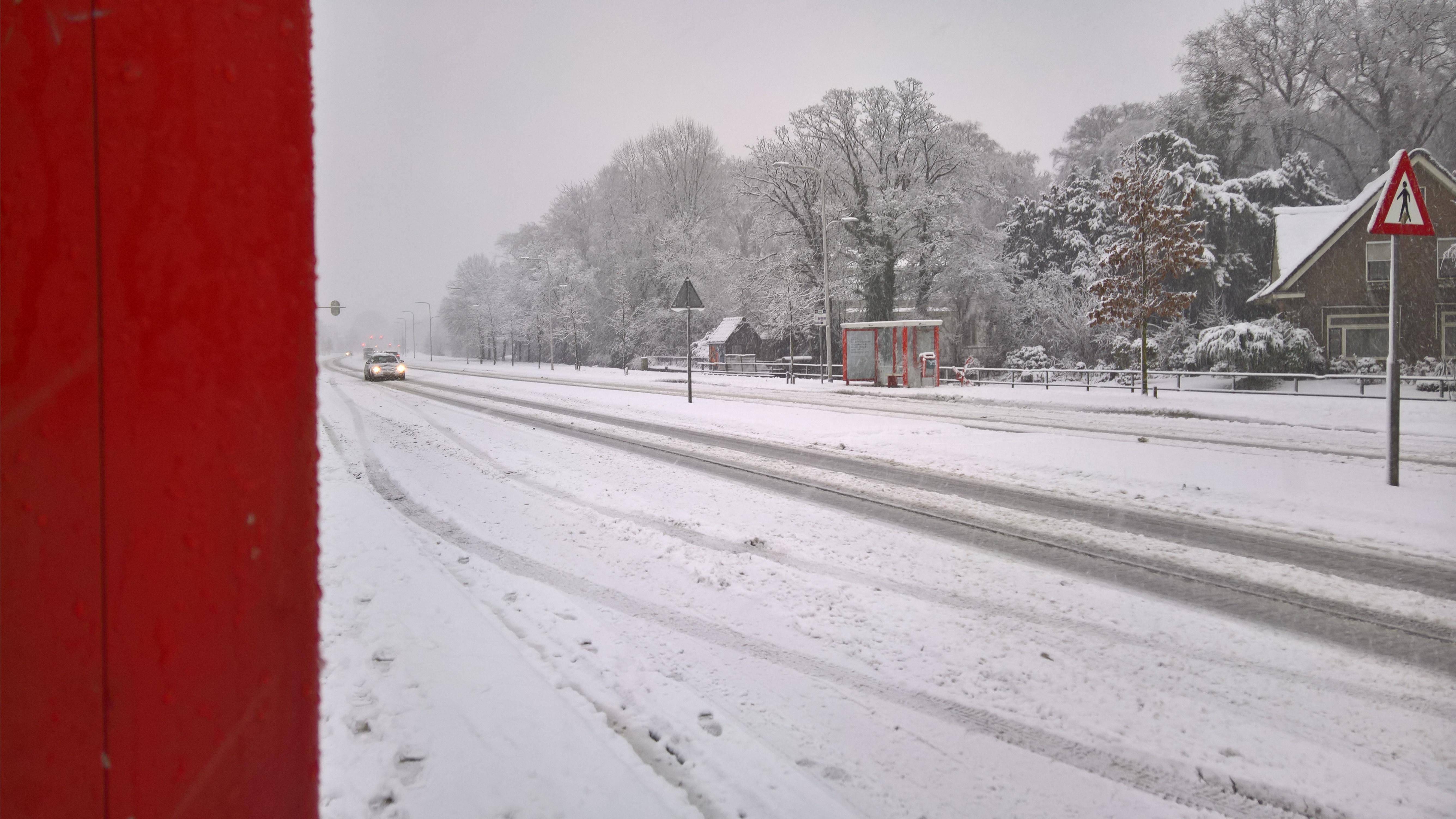 Sneeuw 10 december 2017